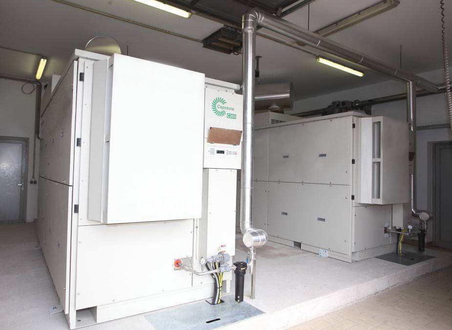 Komunalne čistilne naprave in MikroTurbine